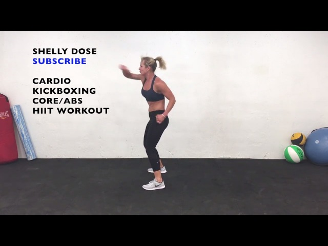 Cardio Kickboxing Workout at home, Fat Burning Cardio Boxing C0RE ABS Workout