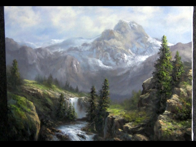 Paint with Kevin Hill - Vast Sunlit Valley