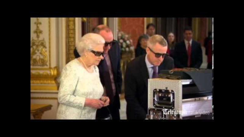 Behind the scenes - The Queen's 2012 Christmas message