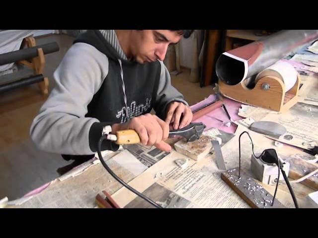 Organ pipe making - Bartis Szilard