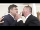Ты ублюдок и мерзавец Саакашвили министру юстиций Петренко