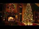 Classic Christmas Music with a Fireplace and Beautiful Background Classics 2 hours 2018