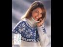 СВИТЕР С ЖАККАРДОВЫМ УЗОРОМ 2018 Sweater with Jacquard PATTERN Pullover mit Jacquard Muster