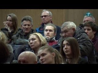 Публичные слушания в Калининце.Преобразования в городской округ