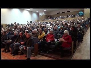 Публичные слушания по вопросу объединения в Калининце