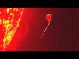 Появление большого количества нло на солнце ввело ученых в шок. Съемка спутника!!!