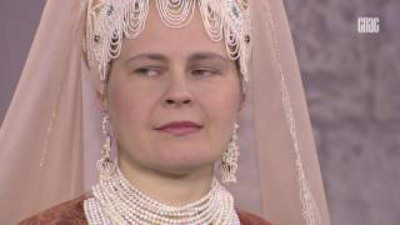 История русского костюма. Праздничный женский костюм.