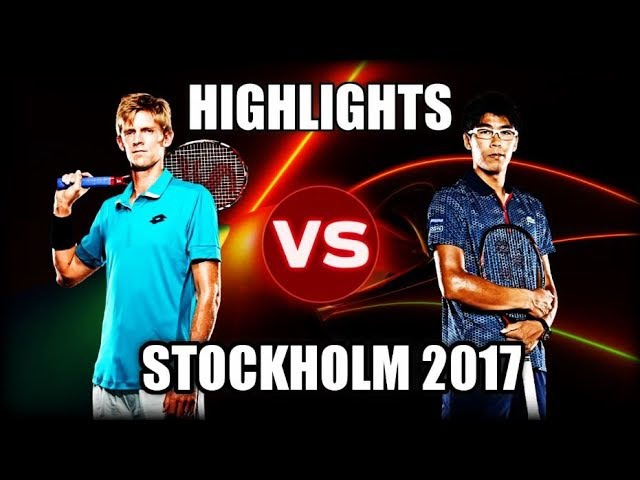 Hyeon Chung vs Kevin Anderson STOCKHOLM 2017 Highlights