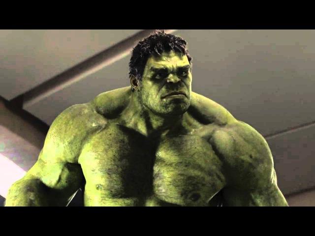 Avengers 2012 Hulk VS Loki (FIRST IN HD)
