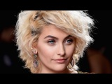 Paris Jackson Goes Glam on the 2017 GRAMMYs Red Carpet in Chic Sparkly Dress