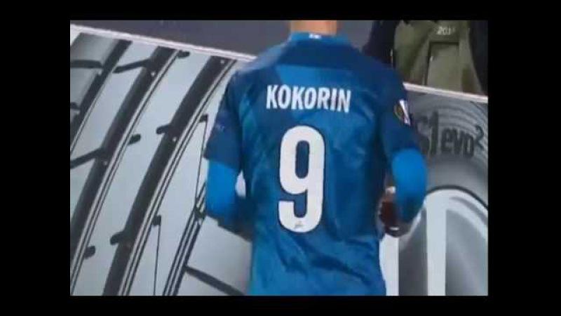 Zenith vs AZ Alkmaar 3-0 Goal Kokorin / Зенит - АЗ Алкмар 3-0 Дубль КОКОРИНА