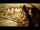 Песочное шоу Северный Ветер, мой друг - Sand art Northen Wind, my friend