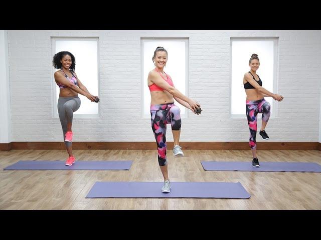 Anna Renderer - Standing Flat-Belly Workout | Тренировка живота в положении стоя