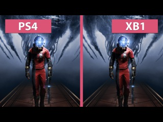 Prey – PS4 vs. Xbox One (The First Hour Demo) Graphics Comparison