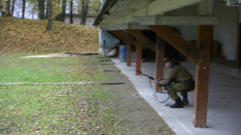 Тактическая стрельба в тройке камера №1