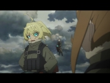 Youjo Senki / Saga of Tanya the Evil / Военная Хроника Маленькой Девочки - 6 серия [Озвучка: Студийная Банда AD (AniDub)]