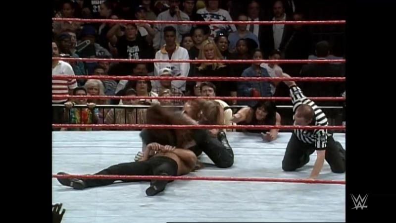 Bret Hart vs. The Undertaker vs. Shawn Michaels - Unseen Triple Threat Match- Raw, Sept. 22, 1997