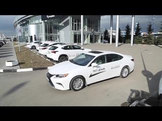 Тест-драйвы Lexus ES 200 в салоне Лексус-Кунцево. Приезжайте!