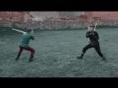 Реконструкция методов отражения нападения с длинным мечом из иллюстраций по фехтованию. 14 век. Италия.