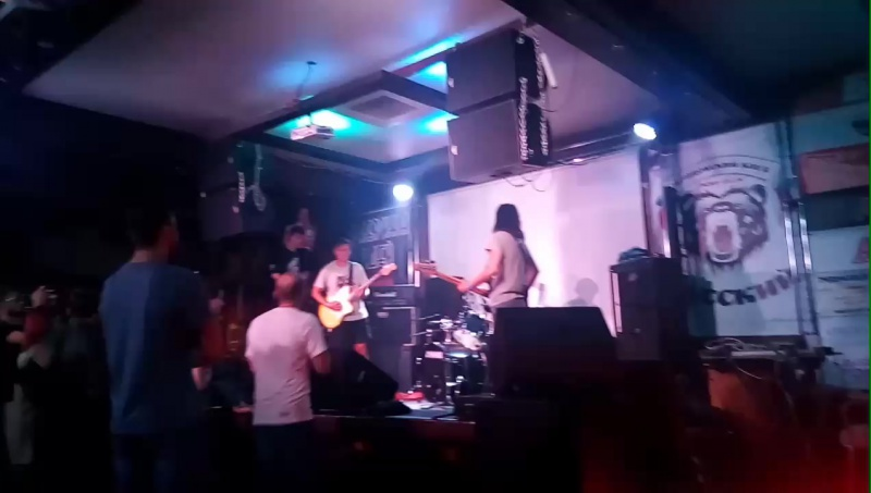 The Kurws @ Ring Bar, 01/09/17 Khabarovsk, Russia, pt. 2