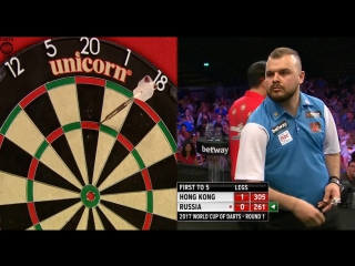 Russia vs Hong Kong (PDC World Cup of Darts 2017 / Round 1)