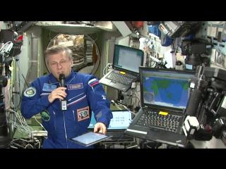 #100днейВКосмосе: космонавты отвечают на вопросы подписчиков