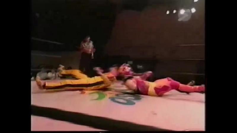 Masato Yakushiji vs. Super Demekin (Osaka Pro - Natsuyasumi! Adventure Series 2000)