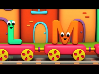 Bob The Train Alphabet Train