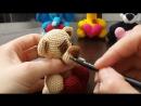 Тонировка игрушек амигуруми