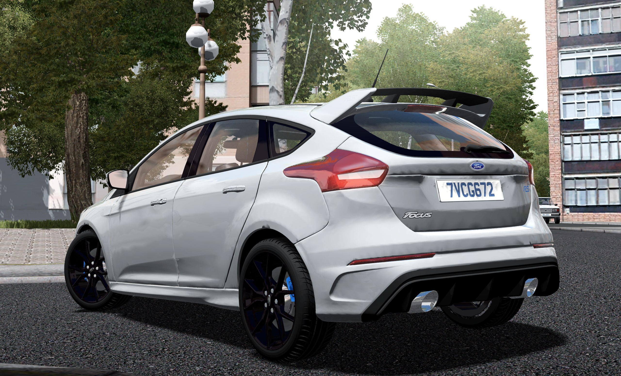City Car Driving Topic 2017 Ford Focus Rs 153 1 2 2012 Tinted Windows Screenshots