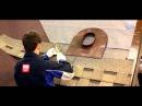 Монтаж многослойной гибкой черепицы открытым способом в ендове часть 2
