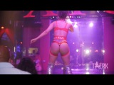Red Rose La Cubana stripping at XTC  #TwerkThirst Exclusive