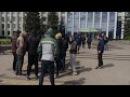 Спроба зібрати масовку для блокування будівлі Рівненської облдержадміністрації