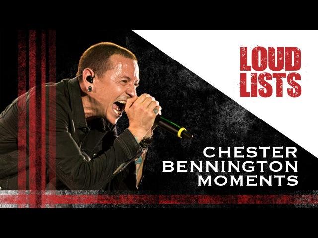 10 Unforgettable Chester Bennington Moments