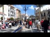 Domingo de Ramos 2017, Semana Santa ALHAURIN de la TORRE, fuente y musica bonita, 0904