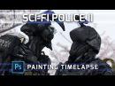 Neo Japan N10 - Painting Photo Manip Timelapse