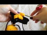 C2C Pixel Sword crochet tutorial