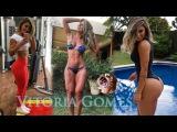 Vitoria Gomes   Fitness Bikini Model: Butt Workout, Legs & Thighs. @Brasil
