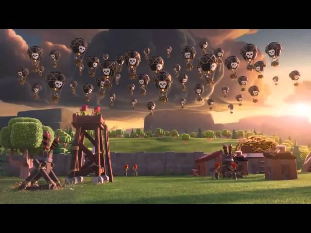 Clash of Clans смешное видео
