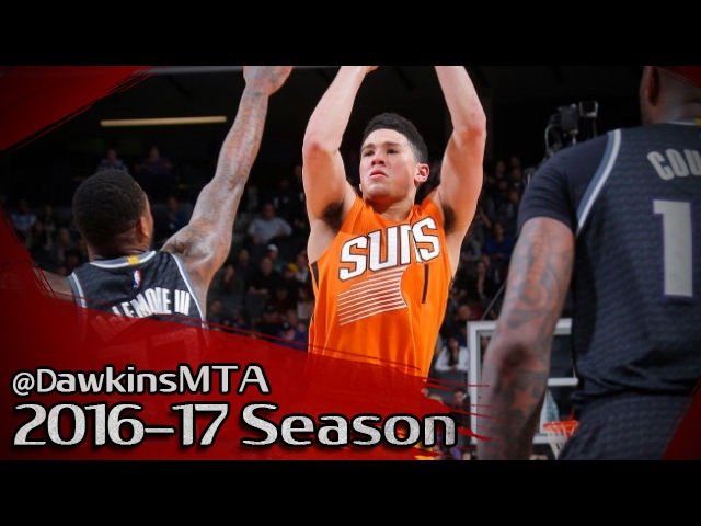 Devin Booker Full Highlights 2017.02.03 At Kings - 33 Pts, CLUTCH!