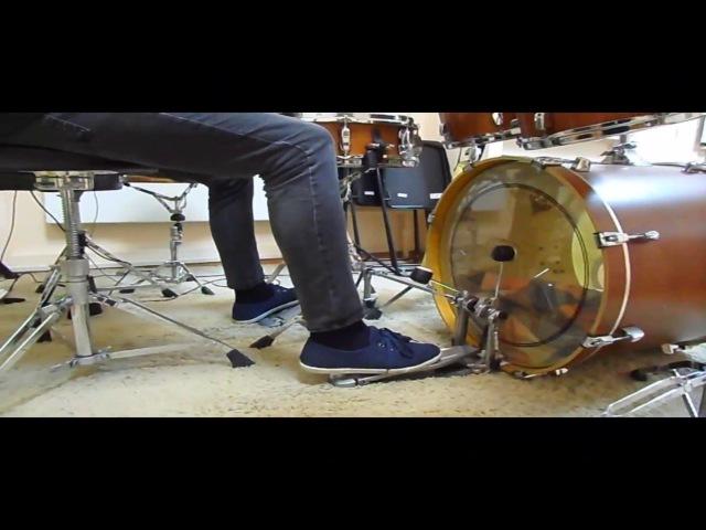 VLOG7 Как быстро играть двойку на бас-барабане