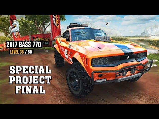 Asphalt Xtreme - 2017 BASS 770 (Special Project Final)