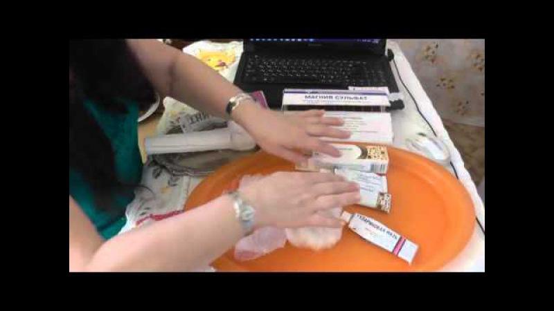 390. Домашняя помощь при шишках после уколов и инъекций в вену. Видео урок. Селфи.