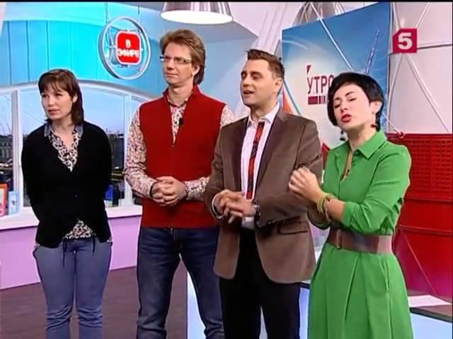Jorge Ataca Tanja La Alemana @ Russian TV 5 channel
