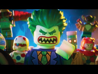 #ILMovieTrailers: Второй трейлер фильма «Лего Фильм: Бэтмен» / The Lego Batman Movie