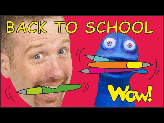 Back to School with Steve and Maggie Speak English with Stories for Kids Wow English TV