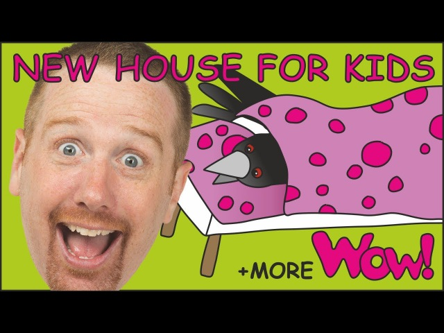 New House for Kids MORE Stories for Children from Steve and Maggie Learning Wow English TV