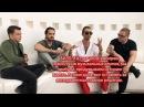 Interview with Tokio Hotel in Ekaterinburg (Russia, 21.04.17)