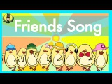 Friends Song | Verbs Song for Kids | The Singing Walrus