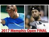 Ryan Harrison vs Nikoloz Basilashvili 2017 Memphis Open FINAL Highlights by ACE